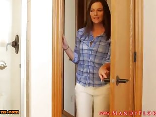 STEPMOMLOVER.COM: mommy training hump close to her sonnie four