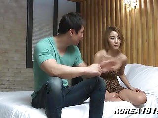 Korean Porn Hot Korean Fondled Itty-bitty Panties!
