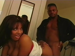 Mr. Marcus Got Persia's Hairy Pussy For Hardcore Coitus