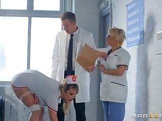 horny be responsible for Marica Chanelle adores fuck plus a blowjob in the hospital