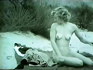 Unchanging vintage sex on a beach