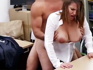 Married business lady stodgy fuck for money