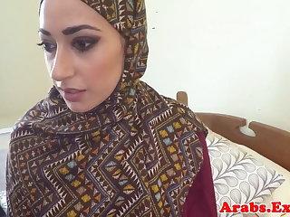 Pounded muslim babe jizzed in frowardness