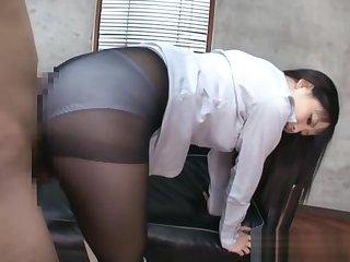 Tsumugi Serizawa sexy Asian teacher CFNM with sex toys
