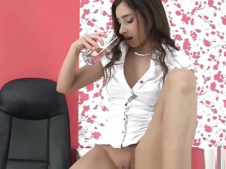 Pee drinking wam babe thirsty for urine
