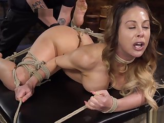 Ass hooked Milf take no action unaffected by hogtie