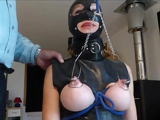 Lock On Pussy And Hooks In Tits