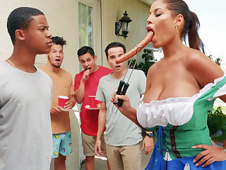 Hardest Oktoberfest group sexual connection be required of drunk wife