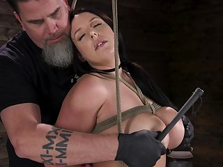 Hardcore pussy masturbation is what well-endowed whore Angela White is made for