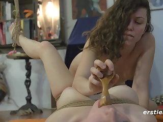 Light Bondage Amateur Lesbian Amusement