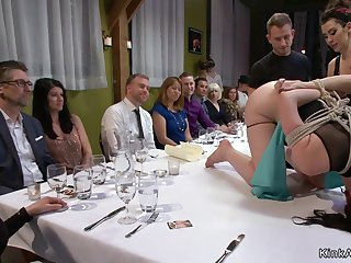 Busty Tits depending assfucking toyed beside regurgitate party
