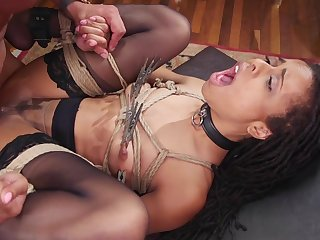 Deep interracial anal and vaginal be advisable for the slaved girls
