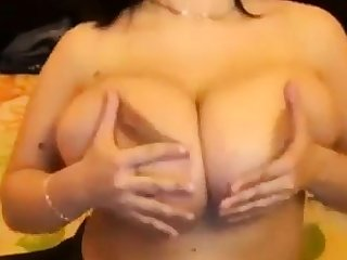 A Copybook - huge big natural tits saggy big nipples fondle