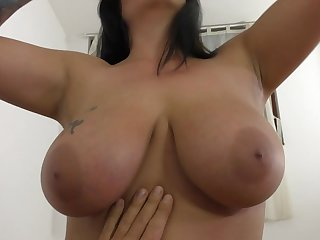 The man nude chick loves a deep POV shag